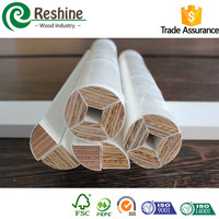 Decorative primed wooden timber architrave