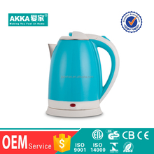 Cheap novel pour over water eletrical plastic tea electric kettle