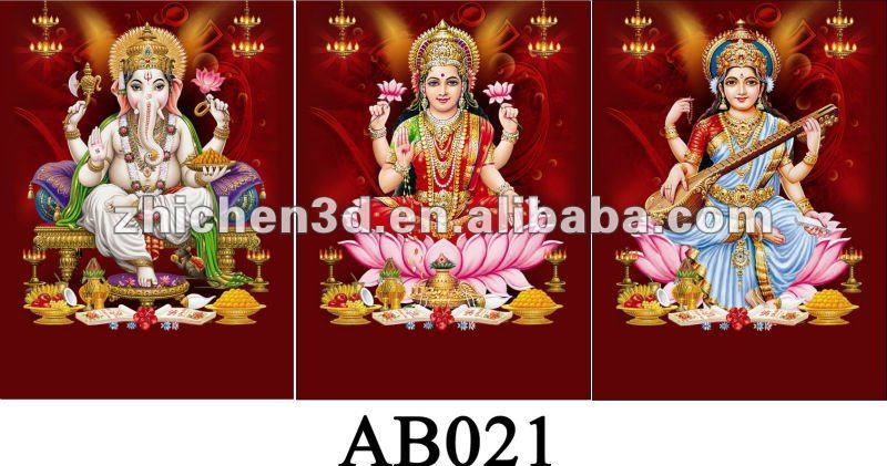 3D indian gods picture
