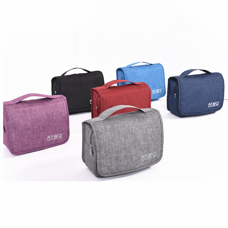 Mens Hanging <strong>Travel</strong> Shaving Dopp Kit Waterproof Toiletry Organizer Bag