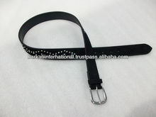 Crystal Leather Belts