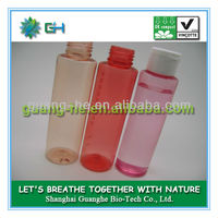 100ml biodegradable eco-friendly plastic colored PLA crystal bottle for cosmetics and perfume