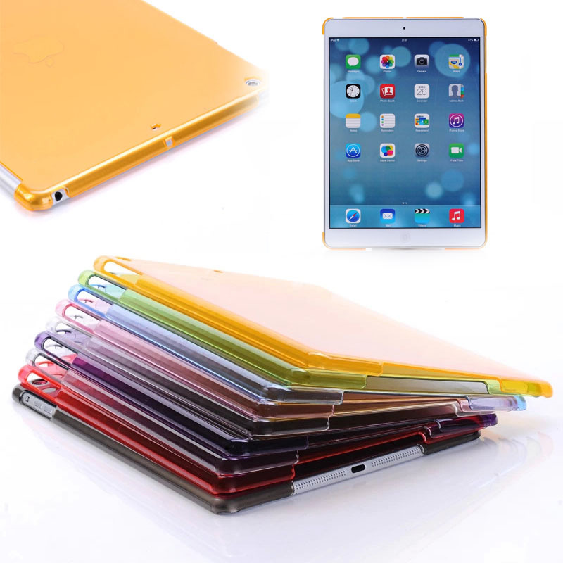 Clear PC hard case for iPad air 5,for iPad air crystal hard cover
