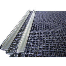 Crusher Woven Wire Mesh Screen/Lock Crimped Vibrating Woven Wire Screen/Stainless Steel Crimped Wire Mesh