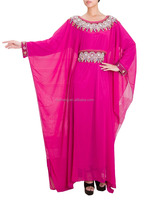 2014 High Quality Islamic Embroidery Women Wholesale Jalabiya