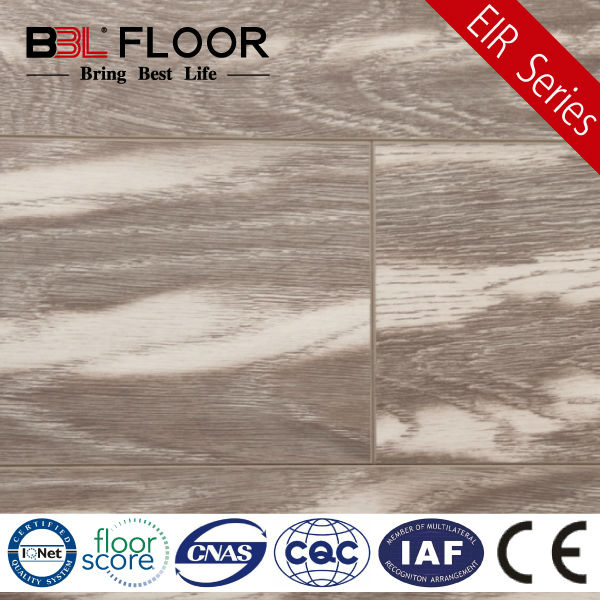 8mm Thickness AC3 Emboss Registered outdoor artificial wood flooring 9863-1