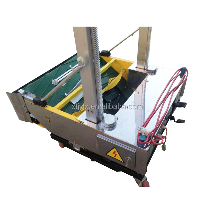 High quality and efficiency wall plastering machine