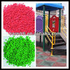 colorful epdm colour rubber granule