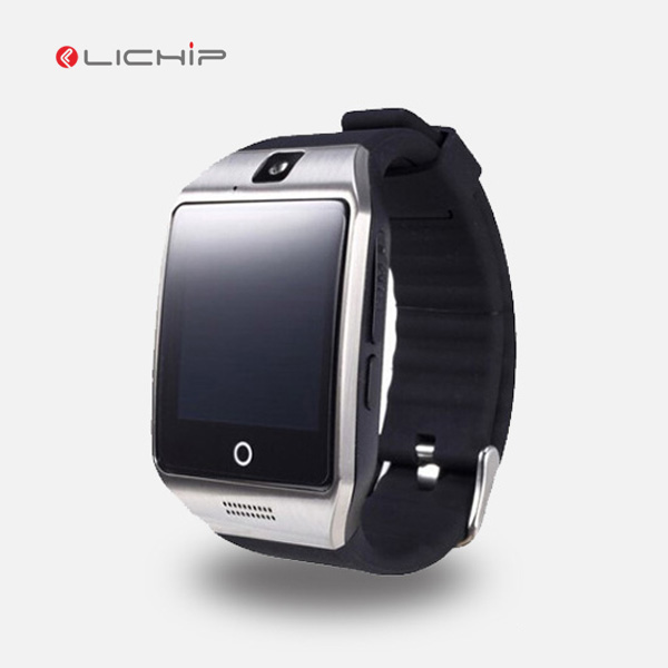 LICHIP Q18 qw09 wifi mtk6572 dz09 GT08 plus 3G sim card android smartwatch smart watch <strong>phone</strong>