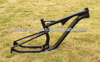 2014 new full suspension frame 29 carbon/mountain bike frame AC036 Thru axle 142*12,15.5/17.5/19/21 available/BSA BB30 for sale