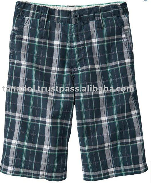 Boy Plaid Shorts Made in Thailand High Quality Good Price