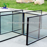 insulated glass for facade and greenhouse tempered insulating glass panels for building