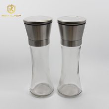 Factory wholesale stainless steel salt and pepper coffee grinder set