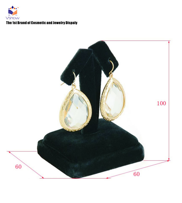 customized counter earring display stand shop