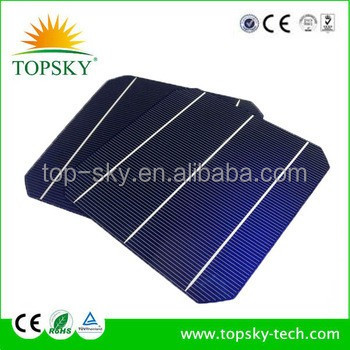 150*156mm Hottest sell 6''x6'' mono-crystalline solar cell 156*156mm mono solar cell