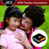 Waterproof GPS Tracker for kids realtime tracking by sms and APP platform
