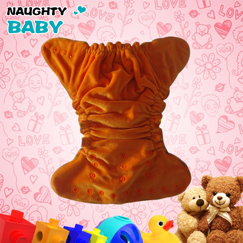 Naughty baby Organic Bamboo cotton Velour baby Cloth diaper bamboo cotton insert one size fits all reusable bamboo nappy