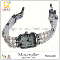 watch fashion new product fashion costume classic jewellery freshwater pearl hand watch
