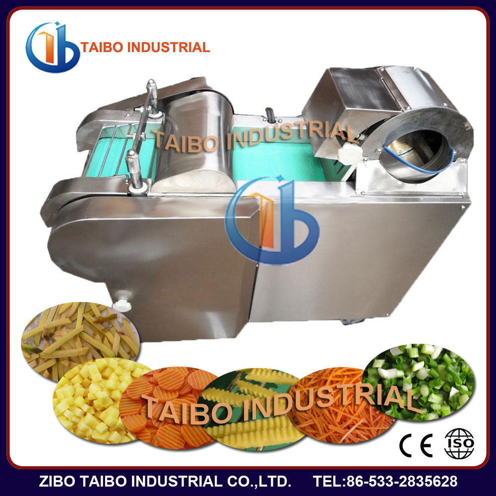 Restaurant Electric Vegetable Cutter Dicer/Home Potato Chips Machine/French Fries Potato Cutter