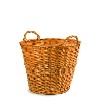 cheap wicker laundry basket with lid.