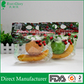 Free samples available transparent plastic fresh fruits packaging bags