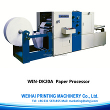 DK20A paper perforating machine with folding die culting counting function