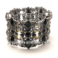 alloy fashion zinc ally clear rhinestone bangles jewelry