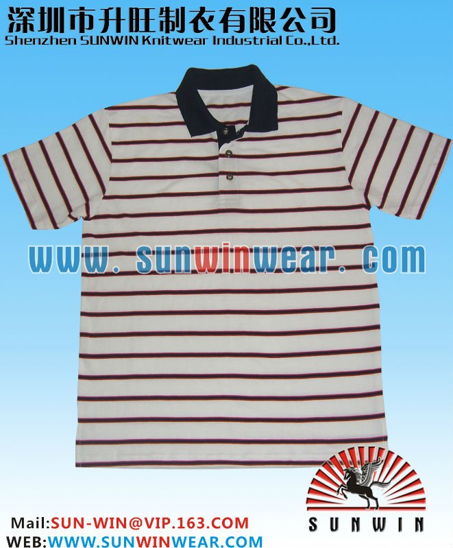 Golf polo shirts, 220gsm 65% cotton, 35% polyester