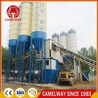 HZS60 Fixed Energy Saving 60 m3/h Concrete Batching Plant Construction Project