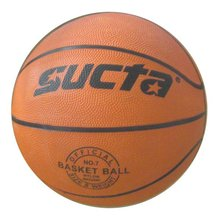 Cheap price with good quality rubber basketball size 7