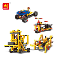 New WANGE Abs Plastic Toy Building