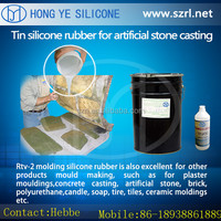 liquid silicon molding rubber for cement concrete products making