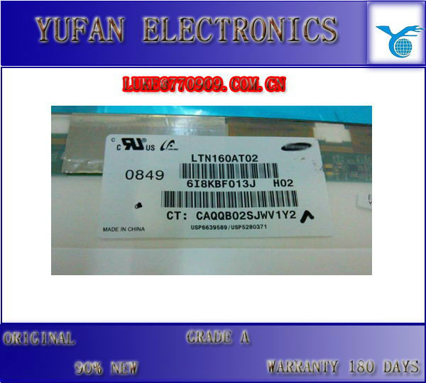 Grade A+ DV6 laptop LCD Screen panel LTN160AT02