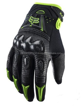 High quality Bomber Vortex Carbon Fiber Motorcycle Gloves Racing Motorbike
