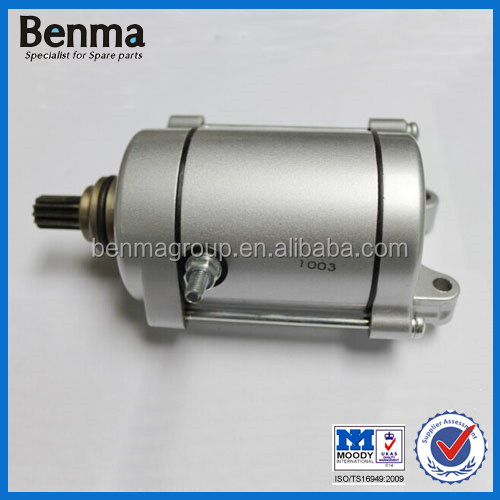 hot sell air Cooled Motorcycle Starter Motor