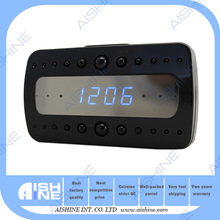 With IR light motion detection HD 1080p WIFI IP table clock spy hidden camera