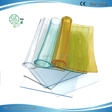 2016 newest custom-made flexible transparent sheet pvc thin plastic sheet pvc sheet roll