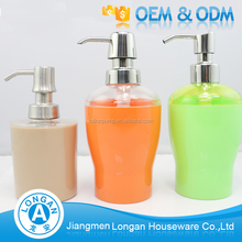 Factory price new design hand washing Liquid Soap 500ml plastic dispenser pump bottle