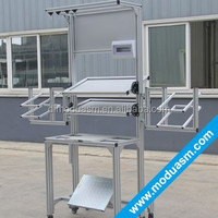 modular aluminium workbench/work table/workstation for warehouse factory