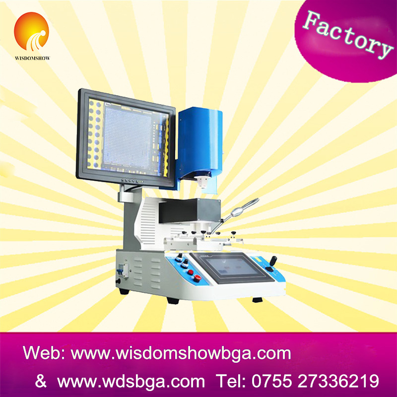 Factory price WDS-700 automatic bga rework station For Iphone mother Board Repair bad motherboard repairing machine