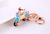 3D electrombile Keychain Motor Key Ring motorcycle keychain Wedding souvenir