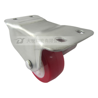 3 inch general duty casters with rigid wheel