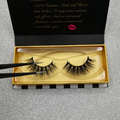 Double layered wholesale 3d mink lashes private label eyelash strips