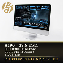 LCD large screen high end all in one gaming computer