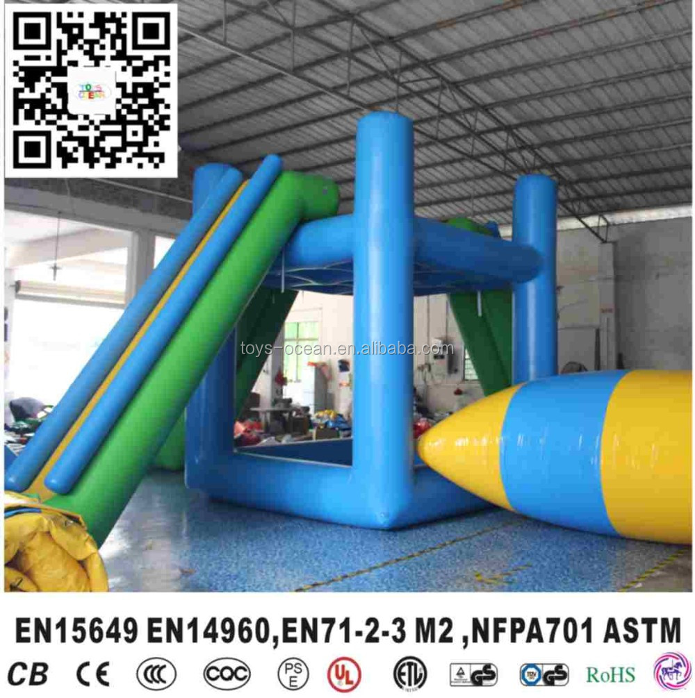 Factory price wholesale Inflatable Water Blob Launch for sales