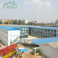 China Good customized sandwich panel prefab house construction labor camp Modern