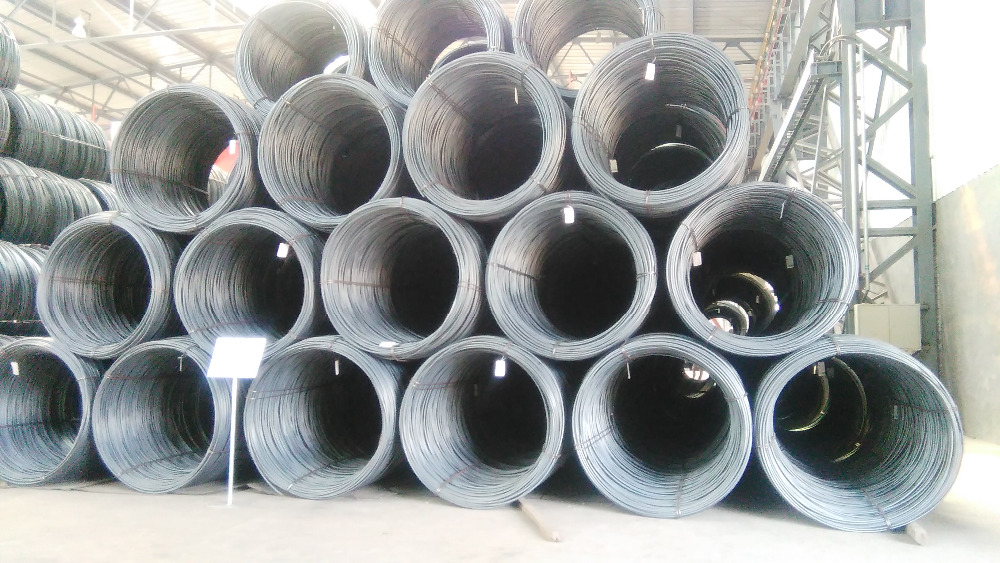 manufacturer hot rolled high carbon steel wire rod in coils