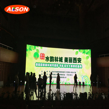 Indoor P4 stage background led video screen display