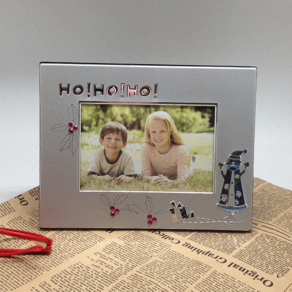 digital love photo frame with heat tranfer printing for Christmas gifts