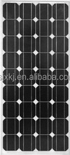 Hot sale solar panels 100watt monocrystalline made in China for the whole world
